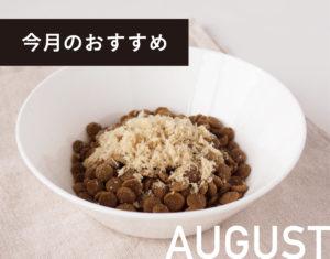 8月のおすすめ商品